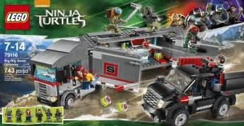 lego 79116 teenage mutant ninja turtles big rig snow getaway eugene toy amp hobby