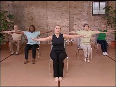 fitness chair pilates workout abdominal exercise for seniors chair exercise