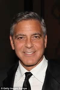 george clooney is being coy about how he stays so gorgeous