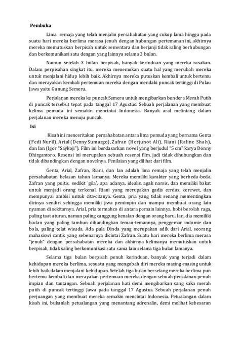 resensi novel 5 cm by donny dhirgantoro adeenalins blog resensi film 5cm bahasa indonesia