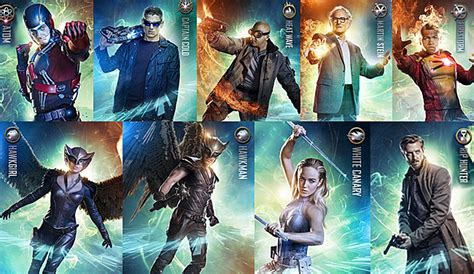 film seri legend of tomorrow exclusive look at upcoming dc comics shows and movies