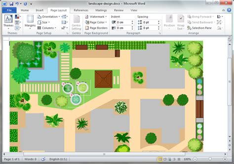 garden template garden design templates for word