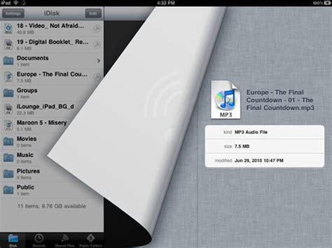 mobile me app mobileme idisk applicatie nu geschikt voor