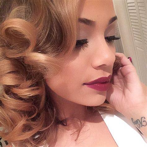 what color is erica menas hair erica mena miamiglow favorite selfie pics pinterest