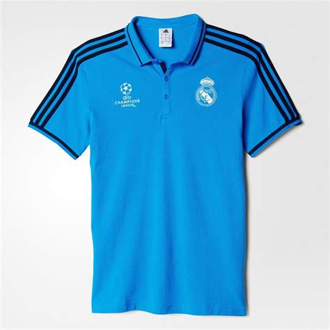 Polo Shirt Real Madrid Cl Black chions league real madrid jersey nfl factory