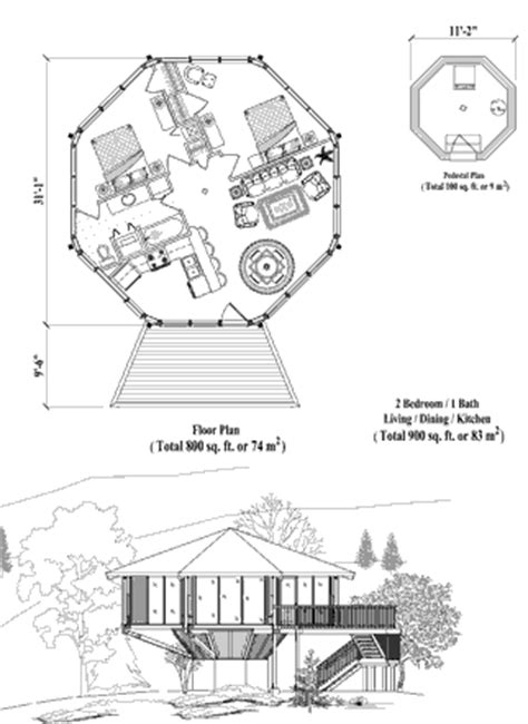pedestal house plans 2 bedroom octagonal house plans popular house plans and design ideas