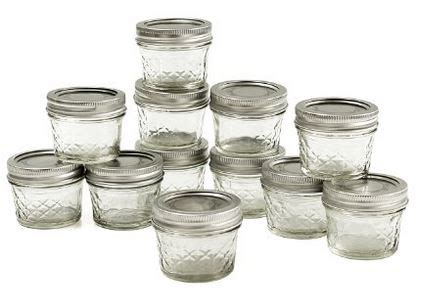 4 Oz Quilted Jelly Jars by Jar Jelly Jars With Lids And Bands 4oz Set Of