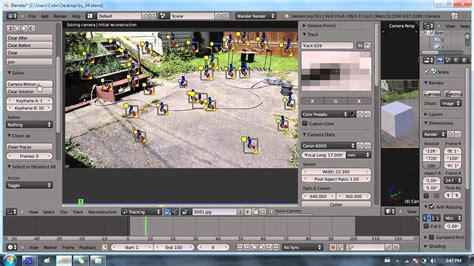 blender tutorial tracking camera blender 2 6 tutorial 18 camera tracking pt 2 2 youtube