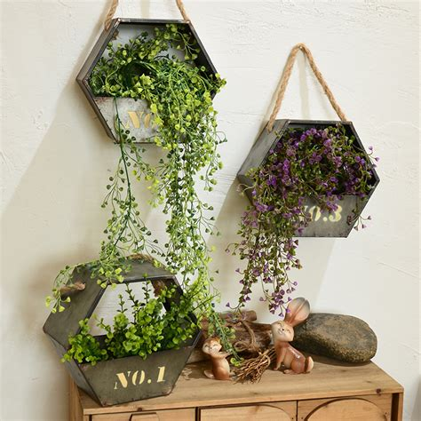 Aliexpress Com Buy 2017 Creative High Quality Iron Pot Garden Wall Hanging Baskets
