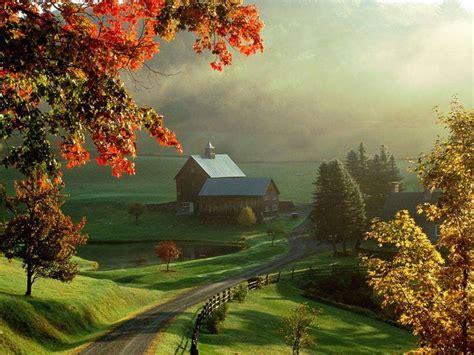 Amish Barn Star Uk Autumn Wallpaper Widescreen Wallpaper
