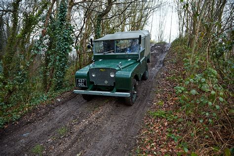 land rover mud mud buddies driving a 1949 land rover series 1 and