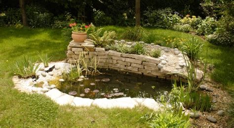 Installer Un Bassin De Jardin