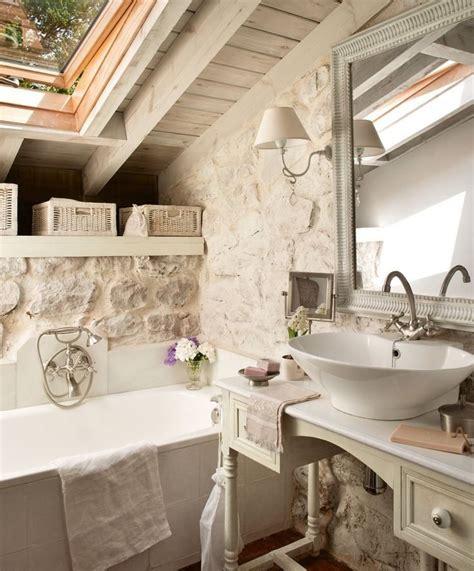 attic bathroom ideas cottage bathroom atlanta homes lifestyles bagno shabby chic lavabo da appoggio dreamhouse