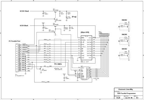 high voltage serial programming avr microcontroller programmer circuit page 4
