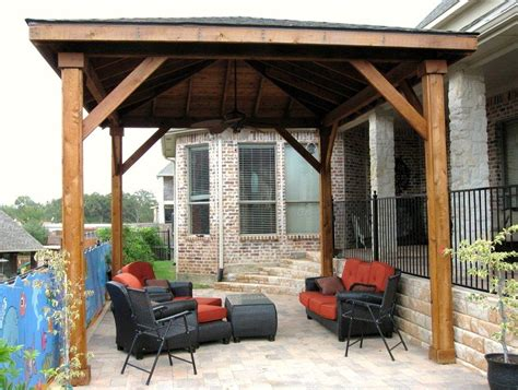 free patio cover design plans free standing patio cover plans