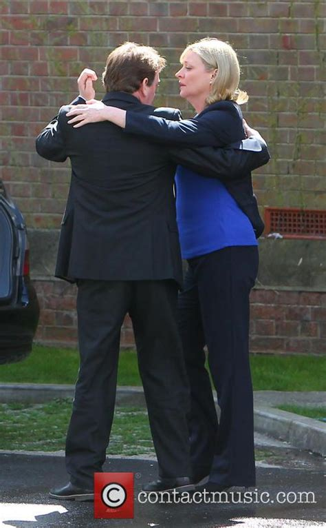 laurie brett daughter adam woodyatt eastenders funeral film set 30 pictures