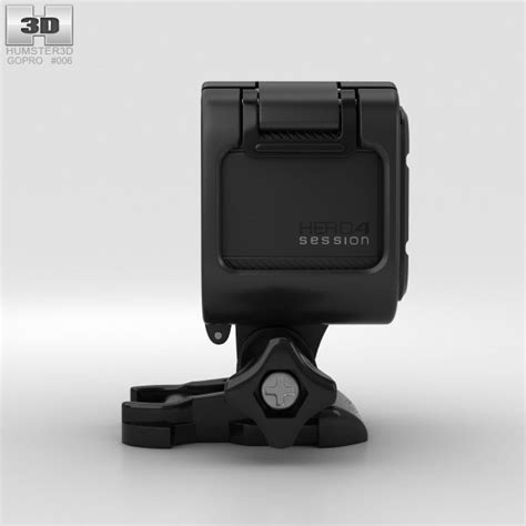 gopro models gopro hero4 session 3d model hum3d
