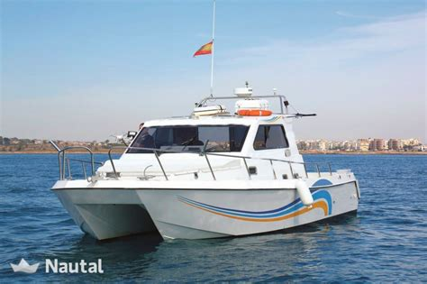 boats for sale alicante fishing boat rent custom cat 326 in torrevieja alicante