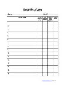 4th grade reading log template reading log sheets with summary 5th grade new calendar