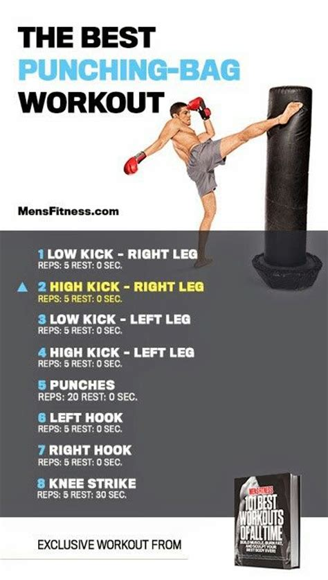 punching bag workout exercise