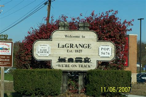 la grange ky la grange city marker photo picture