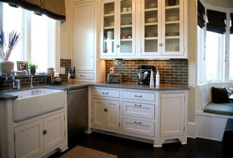 kitchen with brick backsplash kitchen brick backsplashes for warm and inviting cooking areas