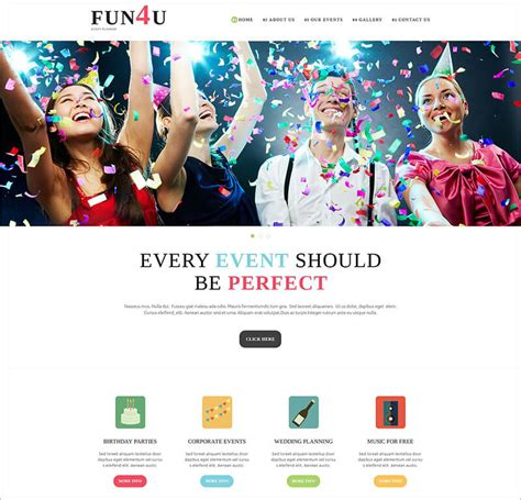 10 event management joomla templates themes creative