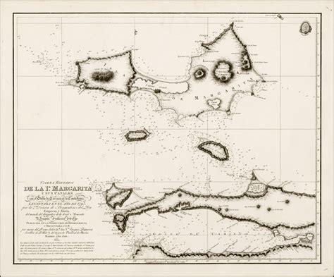 la carta esfarica carta esferica de la ia margarita y sus canales con el golfo de cariaco en la costafirm