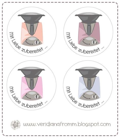 Thermomix Aufkleber Marmelade by Veridiana Fromm Freebie Friday Thermomix Etiketten