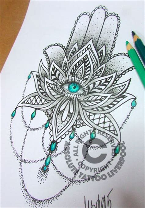 design flower nice nice mandala flower tattoo design