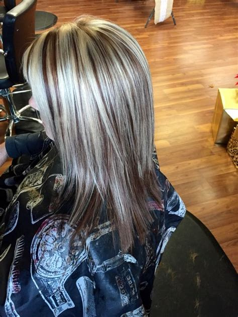 blonde hair with mocha heavy blonde highlights mocha brown and blonde highlights