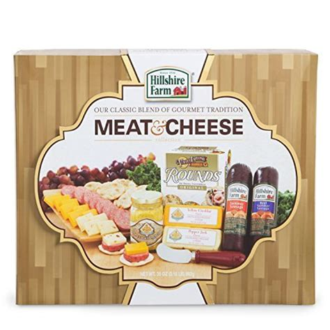 hillshire farm christmas gift set hillshire farms cheese gift box gold ubaskets ubaskets