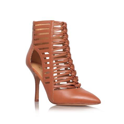 brown high heel shoes nine west bessy high heel court shoes in brown lyst