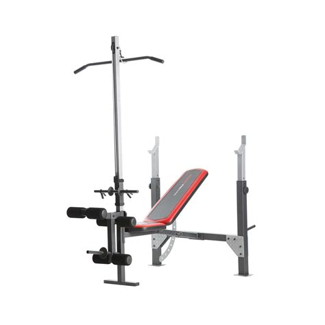 weight bench with lat bar weider 15711 pro 265 bench sears outlet