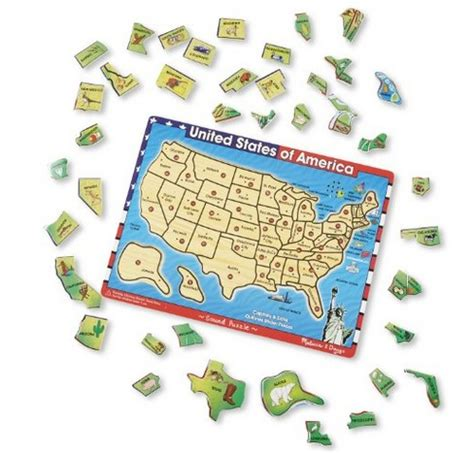 usa map puzzle and doug 5 best puzzles for