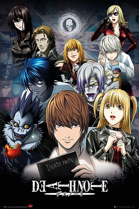 film china motarjam death note characters poster buy online at grindstore com