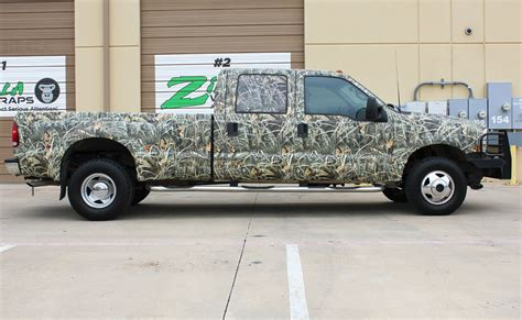 camo wrapped cars realtree camo truck wrap zilla wraps