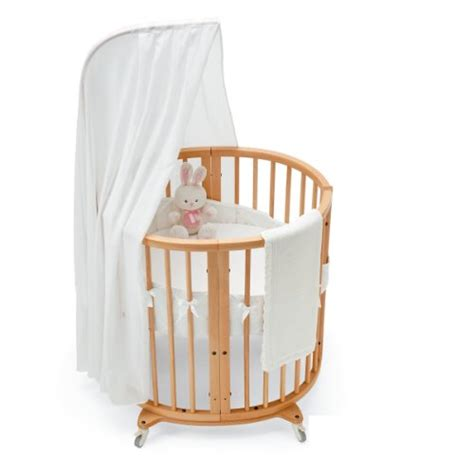 Stokke Sleepi Mini Crib Stokke Sleepi Mini Bedding Set Classic White Bassinet Bedding Sets
