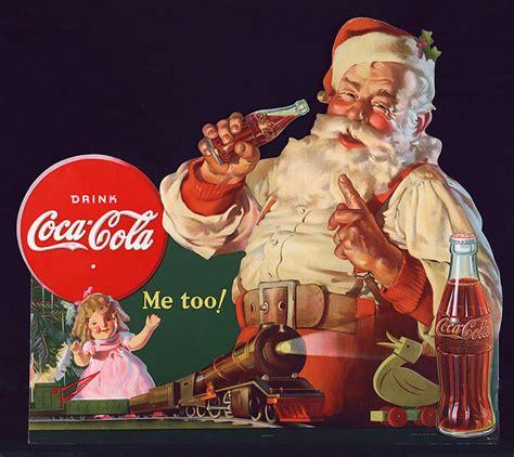 imagenes santa claus coca cola did coca cola invent santa claus multilingual living
