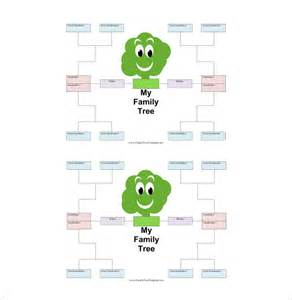 plain family tree template family tree template for 17 free word excel pdf