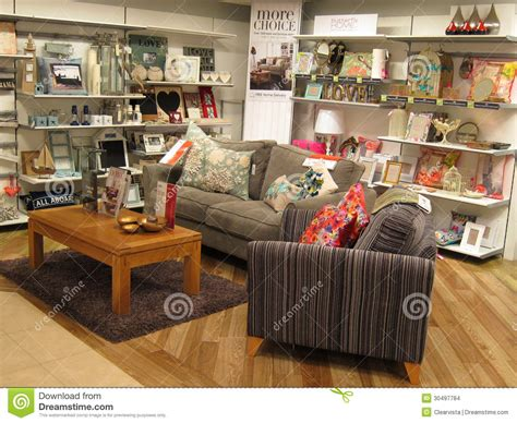 furniture display editorial stock image image