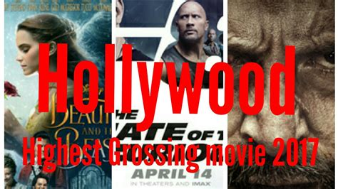 film 2017 box office indonesia top 10 highest grossing hollywood movies 2017 box office