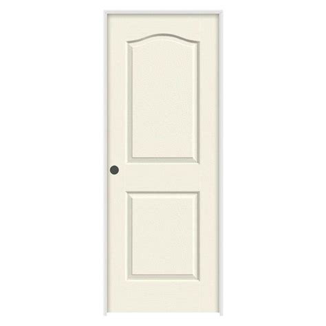 Composite Interior Doors Masonite 32 In X 80 In Smooth 4 Panel Hollow Primed Composite Single Prehung Interior