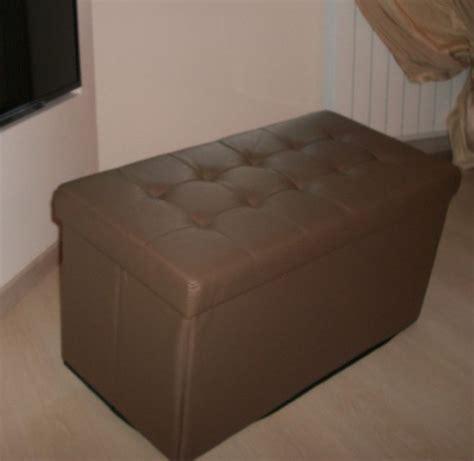 puff arredamento pouff pouf storage contenitore vari colori cm 80x40x41h