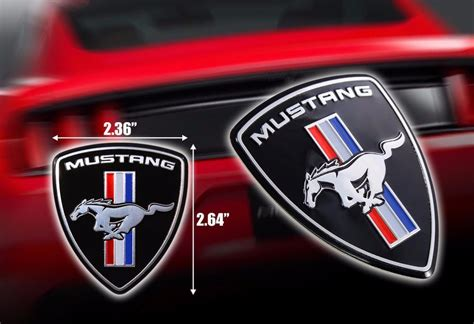 find cheap mustang emblem at up to 70 compare99 price comparison mustang style logo emblem or trunk tailgate logo fenders badge ebay