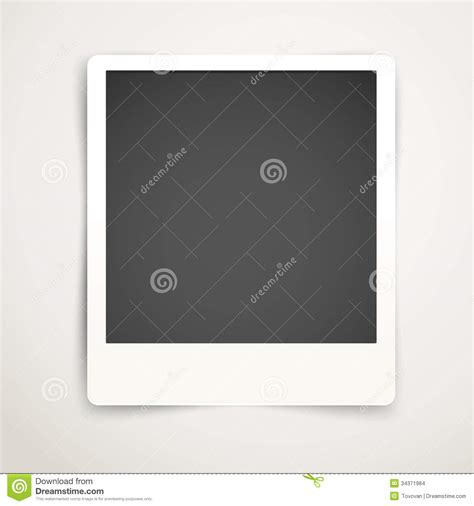 picture template blank photo frame template stock images image 34371984