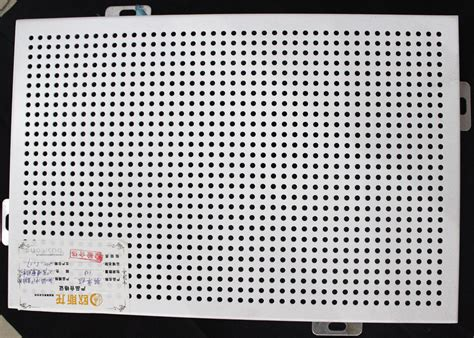 Indoor Ceiling Tiles Punching Acoustic Commercial Drop Ceiling Tiles Aluminum