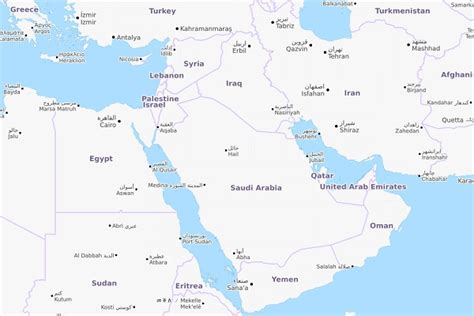 middle east map update middle east urethane update everchem specialty chemicals