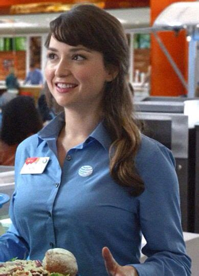 commercial girl milana vayntrub in at t commercial girl celebrities