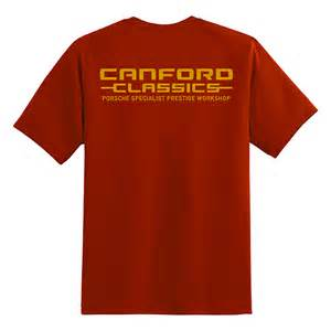 Porsche Shirts Sale by Canford Classics Classic Porsche Restoration Parts